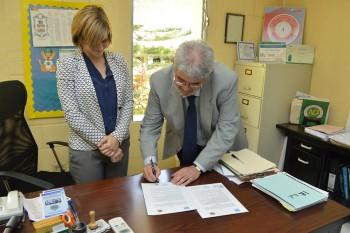 Firman Convenio de Colaboración con Universidad Europea del Atlántico
