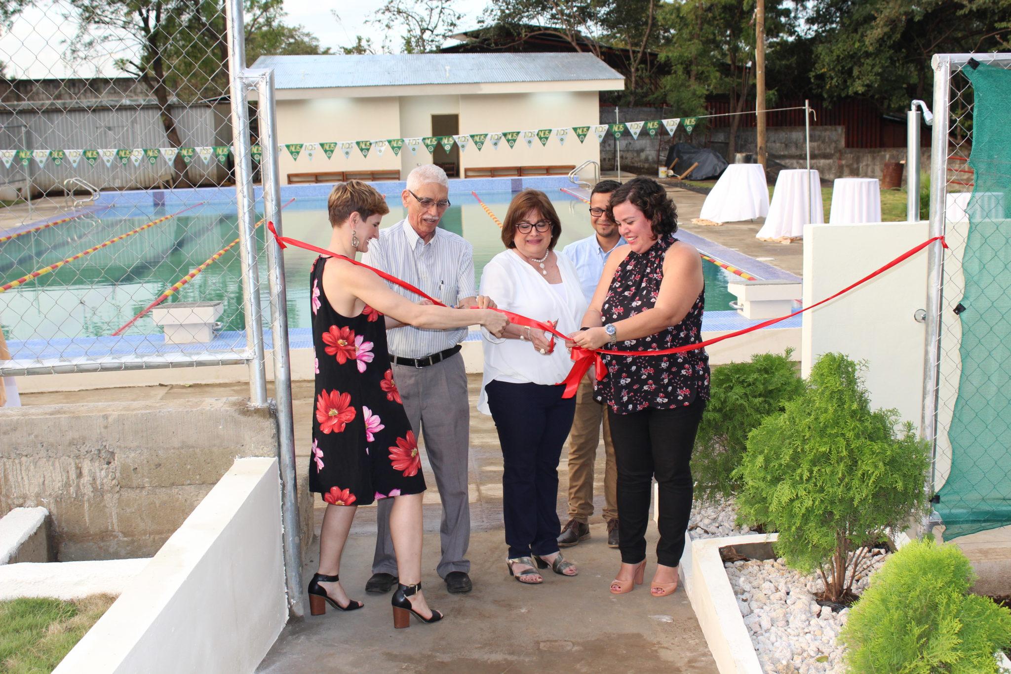 Inauguración de la Piscina NDS