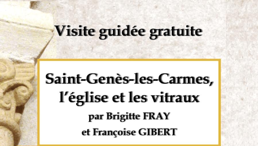 « Les Rencontres de Saint-Laurent » : visite guidée de Saint-Genès-les-Carmes le samedi 2 juin à 14h30