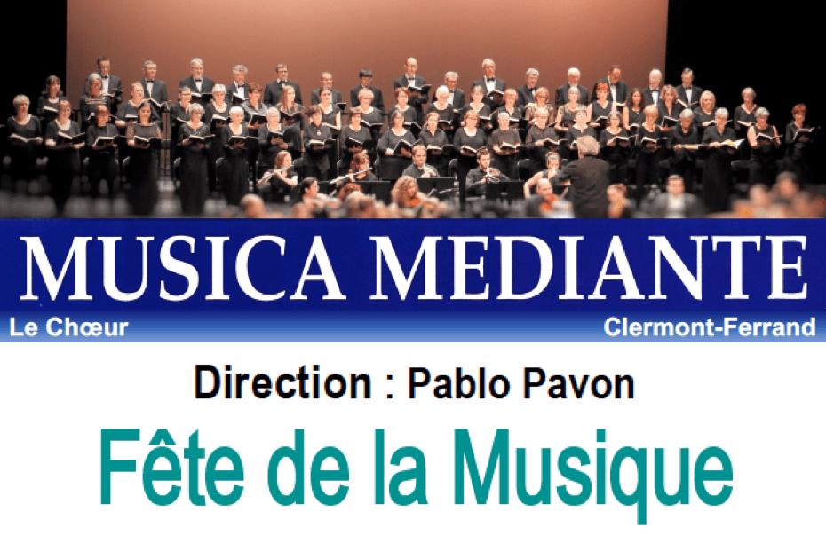 Concert «Musica Mediante» le 21 juin à 20h30 à Saint-Genès-les-Carmes