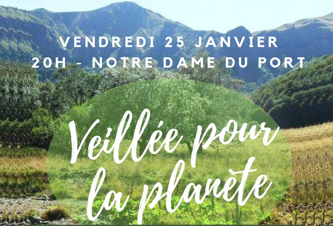 « Veillée pour la planète » proposée le 25 janvier 2019 par l'Aumônerie Blaise Pascal – Jeanne d'Arc
