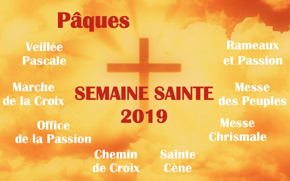 Semaine Sainte 2019 : tous les horaires de Notre-Dame de Clermont