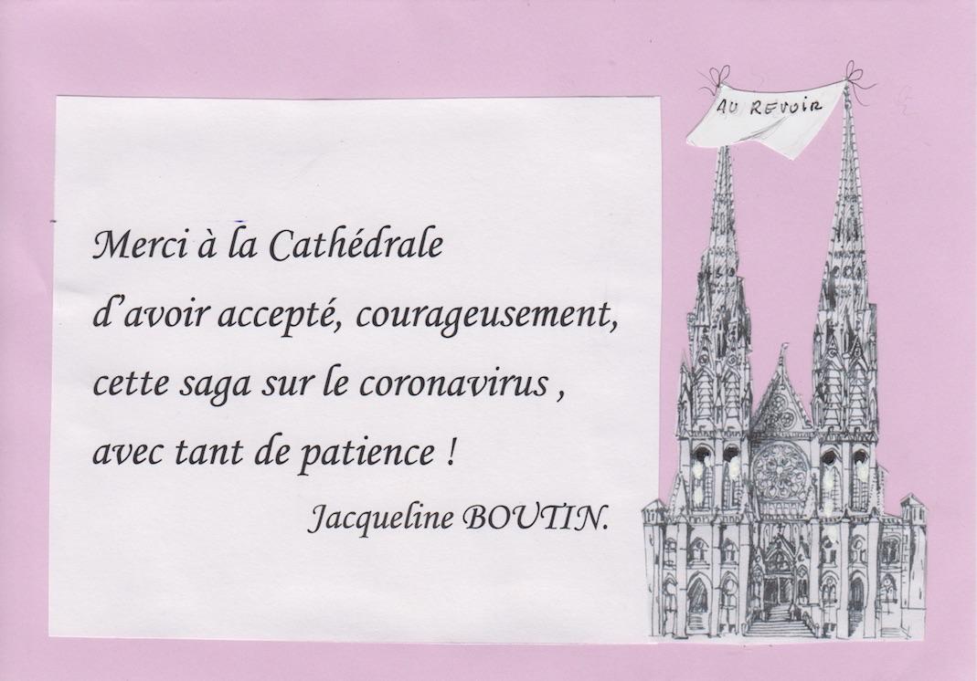 En 14 dessins, l'histoire des 3 C : cathédrale, coronavirus et confinement en 2020 !