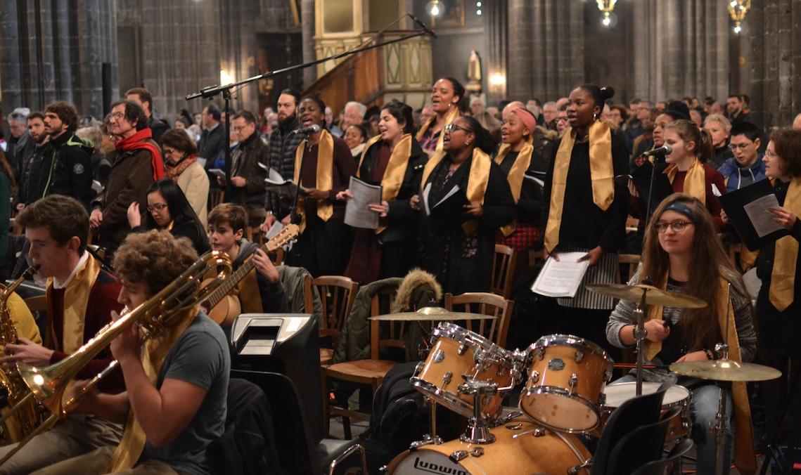 Dimanche 6 septembre 2020 à 18h30 : rentrée de la messe des jeunes et baptême d'adultes en la Cathédrale