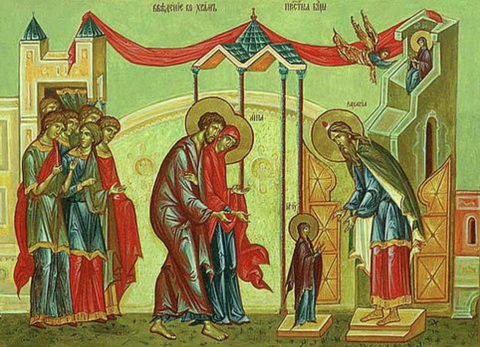 Fête de la Présentation de la Vierge Marie au Temple le samedi 21 novembre 2020