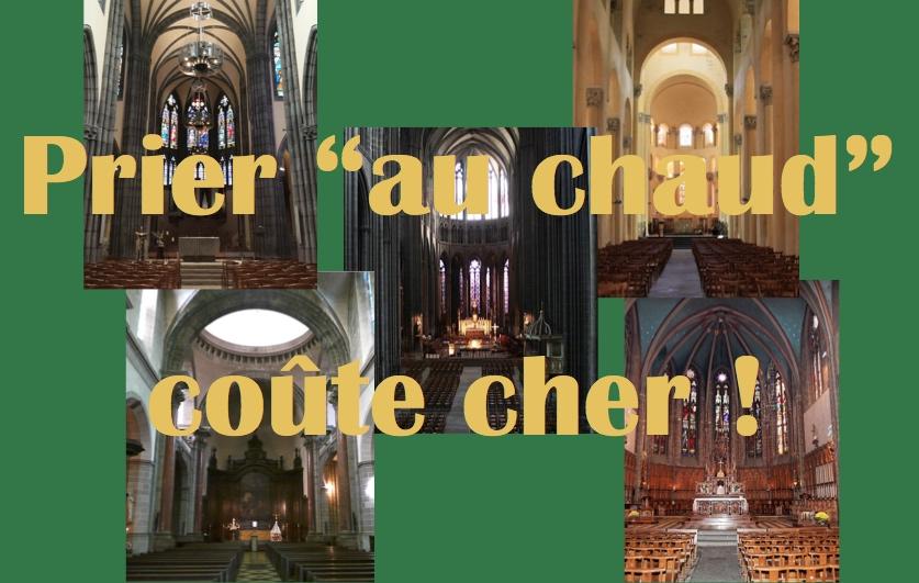 Poursuite de la collecte des dons pour couvrir la dépense de chauffage de nos églises