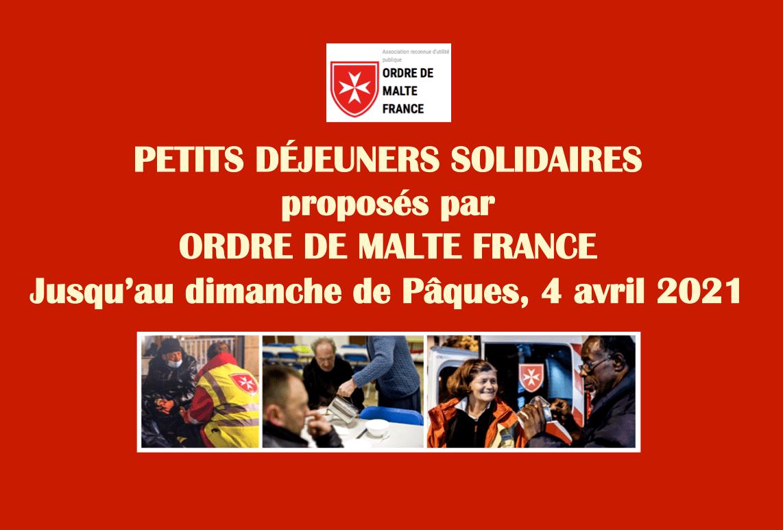 Solidarité avec l'Ordre de Malte France : une proposition de la Délégation du Puy-de-Dôme