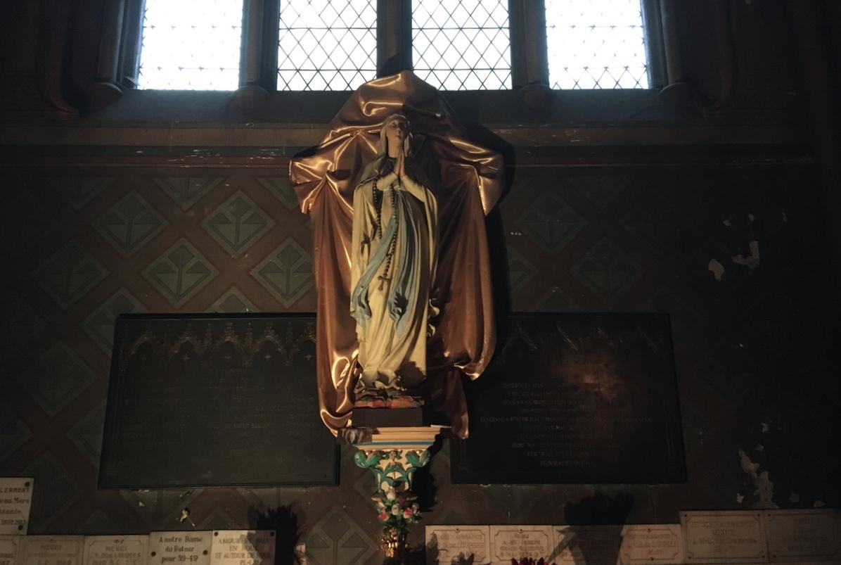 Jeudi 11 février, fête de N-D de Lourdes : messe à 12 h 15 à N-D du Port et à Saint-Pierre-les-Minimes