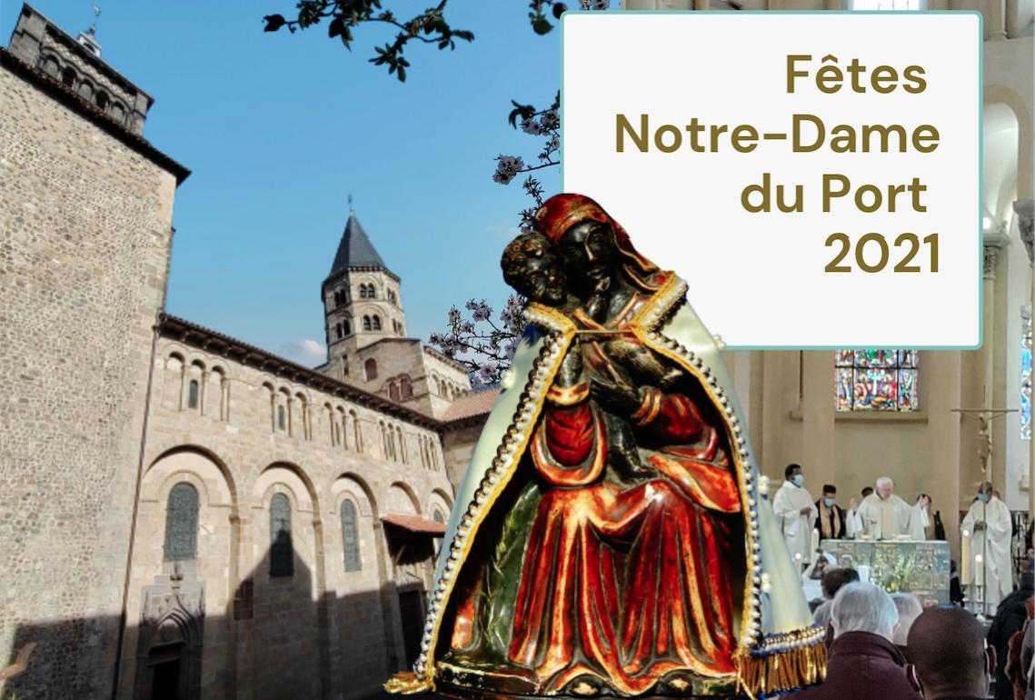 Neuvaine mariale 2021 à Notre-Dame du Port du samedi 8 au dimanche 16 mai : tous les horaires