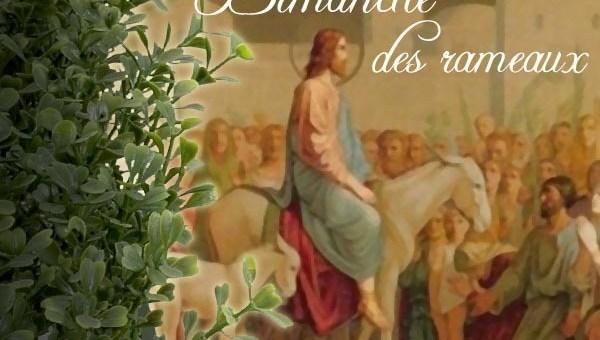 Messes des rameaux dimanche