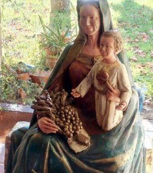 C'était dimanche (08.12.19) pour l'inauguration de la statue Notre Dame des Coteaux à Boulogne-sur-Gesse