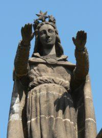 Statue ND de la Garde à Volvic