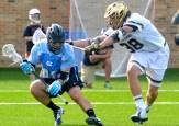 Sophomore Nick Koshansky protects the perimeter.