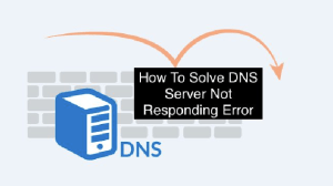 DNS not responding in windows