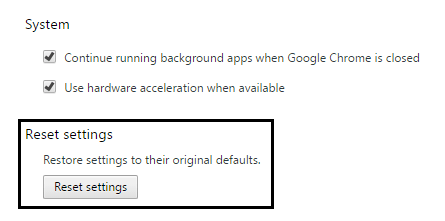 Chrome'sERR_CONNECTION_RESET Error