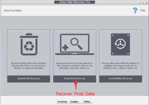 iCare file recovery
