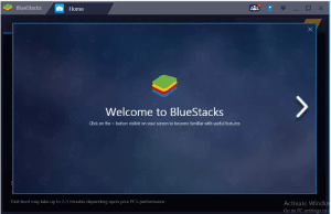 Bluestacks home page
