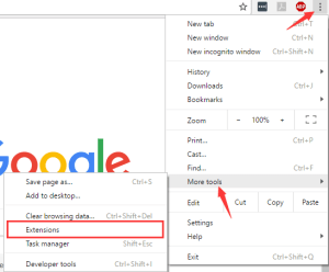 Chrome clear extensions to fix ERR_CACHE_MISS