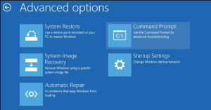Rebuild boot configuration windows