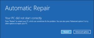Windows 10 recovery mode