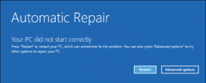 Windows 10 recovery mode