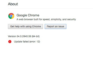 Chrome Update Failed Error 12- Easiest Solutions | Not