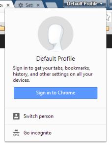 user profile google chrome unresponsive error