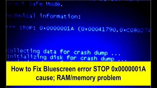 0*0000001a Memory Management Error