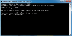 System file scan