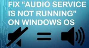 Windows 10 Audio Services Not Responding
