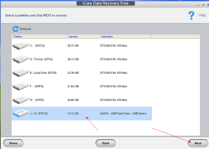 iCare Data recovery Tool