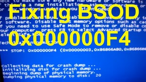 0x000000f4 BSOD Error- How to Fix Windows BSOD Error First of all, you are not the only Windows user who is facing the 0x000000f4 BSOD Error error. This is a blue screen of death error in Windows computer and many users have already faced it. And for you, I have come here with a few possible resolves. But before performing the resolution steps, I want you to know what causes this error to appear. Reasons for 0x000000f4 BSOD Error Before we perform the solution process, here are some common reasons why you are facing the problem, mind to check them out? Due to the corrupted or incorrect installation of your OS system, you might face this BSOD error Outdated or damaged driver software can also be the reason for this problem Corrupted or malfunctioned hard drive can also be the problem Viruses attack can also be the reason Due to low memory storage, a corrupted software file or a particular game or software program can lead to this issue. How to Resolve 0x000000f4 BSOD Error- Update the Drivers If the driver software is not updated, it can cause many problems. If you have recently updated the drivers and still facing the problem, you can follow the steps below- From Windows Device Manager First, press Windows logo key and R together to open the Run box Enter 'devmgmt.msc' in the empty box In a new window, you can find the list of drivers installed in your PC You then can choose from the drivers and then right-click on it and select Update Driver Software You have to choose one from the two options below- Search automatically for updated driver software Browse my computer for driver software The first option will search for the compatible drivers online and will start updating them automatically The second option wants you to have the driver software in your computer's hard drive Update Manually In case you are having a problem in updating the drivers from device manager, you can do it manually, it is may be difficult, but here is the procedure- First, visit your PC's m