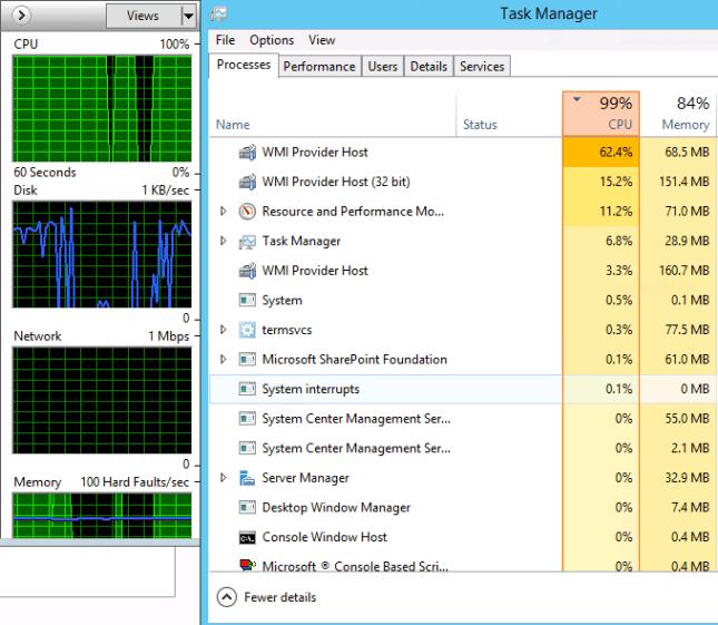 WMI Provider Host CPU Usage Problem