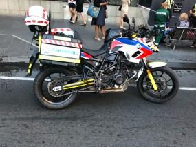 Motorradparamedic in Melbourne, AUS