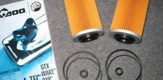 seadoo oil filter o-rings
