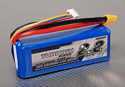 best battery for quadcopter Turnigy 2200mAh 3S 25C Lipo Pack