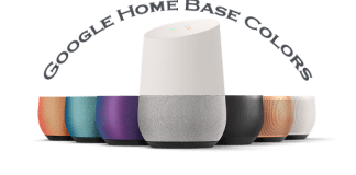 google home base colors