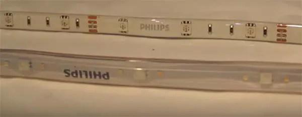 Philips hue light strips installation gen 1 vs gen 2