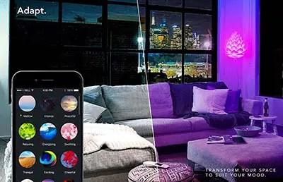 lifx app purple room