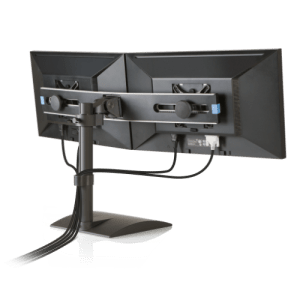 Innovative Freestanding Dual Monitor Stand 9109-Switch Cable Management