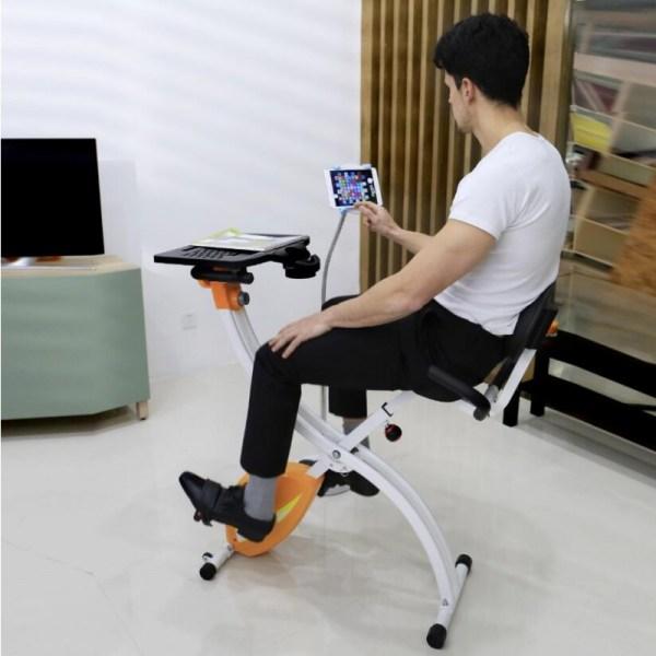 Loctek FX1M Fitness Magnetic Laptop Bike - Phone Mount Demo
