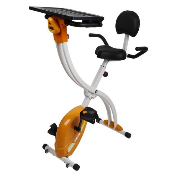 Loctek FX1M Fitness Magnetic Laptop Bike with Tabletop Design for Office