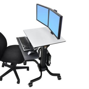 WorkFit-C, Dual Sit-Stand Workstation