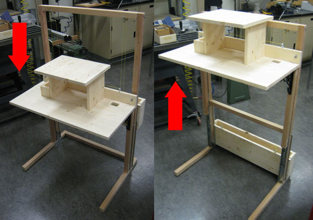 6 DIY Standing Desks You Can Build Too NotSittingcom