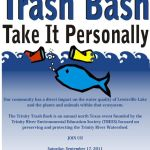 Lake Dallas Trinity Trash Bash!