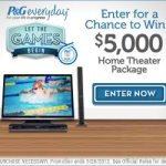 P&G, Let the Games Begin Sweepstakes