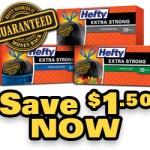 Hefty Coupon, $1.50 OFF Printable Coupon at Target