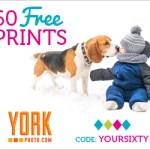 York Photo, 60 FREE Photo Prints