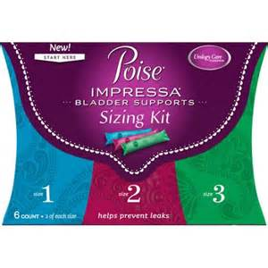 Poise Impressa Bladder Supports so You Don't Pee Your Pants!