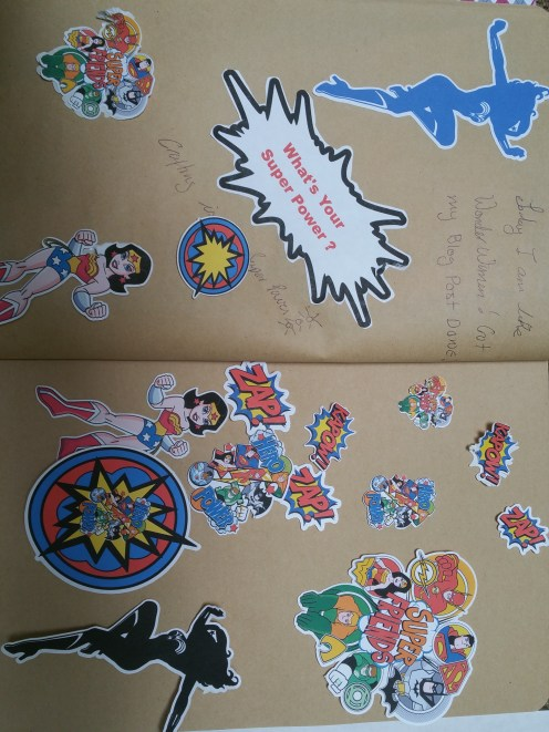 Stickers in my Journal
